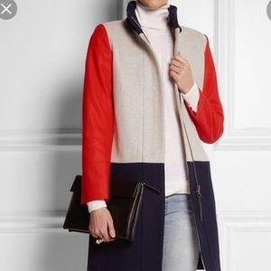 Beautiful J Crew wool blend coat